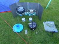 Job lot of camping gear: will split !