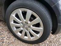 4x audi alloys with good tyres