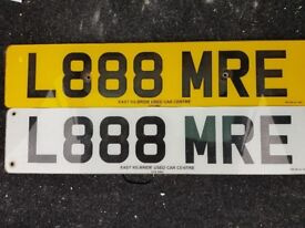 Private Registratiin plate L888 MRE