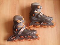 Spartan inline skate roller