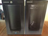 2 x Samsung R1 Wireless 360 Multiroom Speaker (Black)