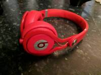 Beats Mixr DJ Headphones Red