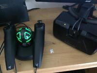 Oculus Rift DK2 + Razer Hydra WORKS AS A HTC VIVE **ABSOLUTE BARGAIN**