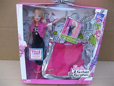 2009 Barbie- A Fashion Fairytale Doll & Purse Giftset