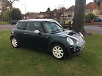 Mini Cooper 2003 1.6 petrol green *years mot and full service history*
