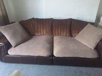 large Dfs sofa £80