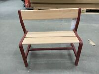 IKEA As-Is YPPERLIG children's bench 65x35 cm red #BARGAINCORNER##CIRCULARHUB#