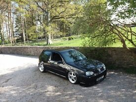 Volkswagen golf gti 1.8t mk4 - air ride/modified/bagged/show not mk1/mk2/mk3/mk5