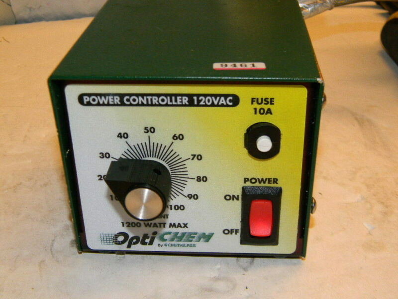 Chemglass Optichem 1200W Power Mantle Controller CG-15005-01