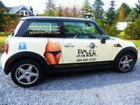 Mobile Spray Tanning Franchise Territory for sale in Moncton