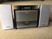 Panasonic DAB radio/ CD player