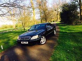 *Immaculate condition* Mercedes S Class S320 CDI Black Full History