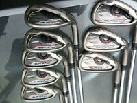 Taylormade Burner OS Irons 5-SW inc Aproach wedge