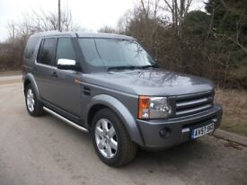 57 REG DISCOVERY 3 TDV6 GS 7 SEATS 6 SPEED MANUAL