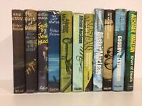 Set of 11 Alistair MacLean first editions