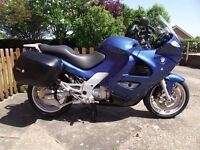 BMW K1200RS SPORTS TOURER 2001 BLUE WITH MANY EXTRAS
