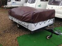 Conway trailer tent 8 man with awning