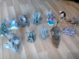 23 tuskern elephent figurs