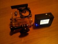 Dbpower HD 1080p sj4000 action camera with waterproof housing like Gopro