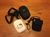 3 small cameras bags - Excellent condition