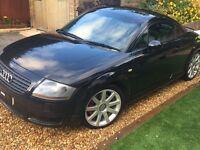 Low Mileage (108k) 2002 Audi TT, Black 225BHP