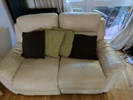 Negotiable Price - 2 Piece Seater Reclining Sofa in good condition