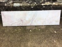 Fireplace marble hearth