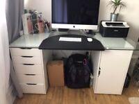 IKEA Desk - 4 pieces - Mint Condition