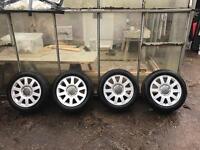 """Audi A4 B5 Alloy Wheels New Tyres Sport A3 16"""" 205/55 16R"""