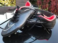 Kids Nike hypervenom football boots