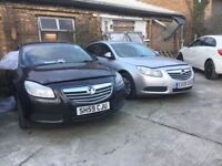 Vauxhall insignia 2009 non runers two for £1400