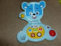Fisher Price baby bear laptop