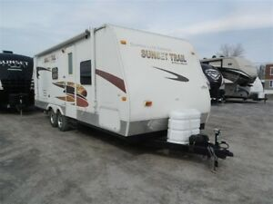 2009 Sunset Trail by Crossroads 22BH Super Lite Series