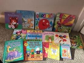 Bundle of 14 kids books
