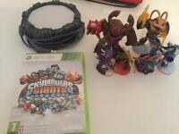 Skylander Giants figures and Xbox 360 Game