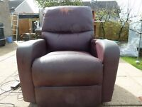 Electric Recliner Chairs (pair) fully operational, need recovering