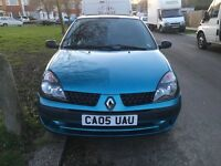 RENAULT CLIO 2005/05 AUTOMATIC LOW MILAGE
