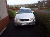 Bargain two cheap cars for sale lexus gs300and vauxhall vectra sri 1.9cdti