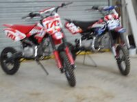 140CC PITBIKES LIKE NEW