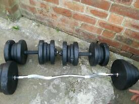 dumbbell weight 40 kg