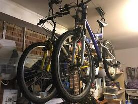 Two used bikes