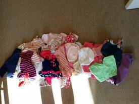 Bundle girls clothes 3 - 6 months
