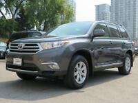 2013 Toyota Highlander ONE OWNER OFF LEASE