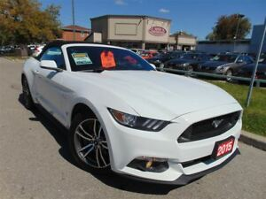 2015 Ford Mustang CONVERTABLE LEATHER-CAM-CLEAN CARPROOF