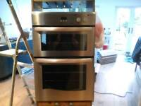 New World NW90DO Electric double Oven with grill used