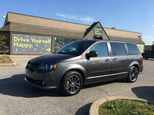 2017 Dodge Grand Caravan GT / LEATHER / PWR DOORS & REAR HATCH