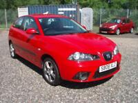 SEAT IBIZA 1.4 Sportrider 3dr (red) 2008