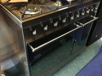 SMEG C92DX8 Dual Fuel Range Cooker - Stainless Steel