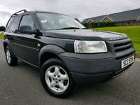 2003 Land Rover Freelander 4x4 2.0 TD4 3 Door, Full Years MOT!! Great Jeep! BARGAIN!!
