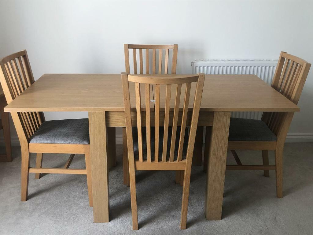 Next Table Ikea Chairs Not Exact Match But Close